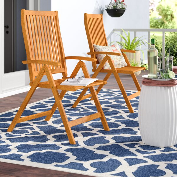 Cadsden Reclining Beach Chair (Set of 2) by Three Posts Three Posts