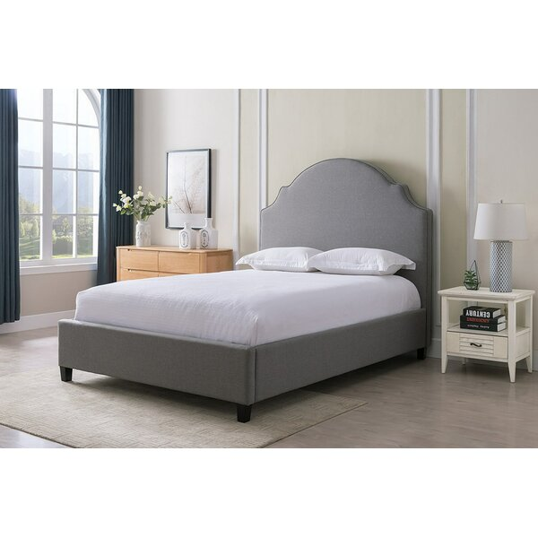 Newson Upholstered Standard Bed by Charlton Home