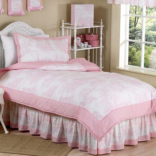 French Toile 3 Piece Comforter Set by Sweet Jojo Designs