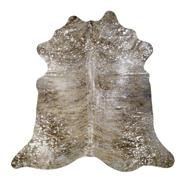Devore Light Brindle Tan/Silver Area Rug by Saddlemans