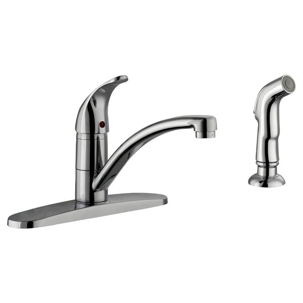 Trenton Single Handle Kitchen Faucet with Side Sprayer