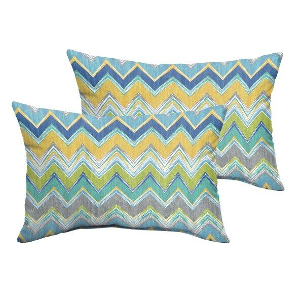 Odenton Indoor/Outdoor Lumbar Pillow (Set of 2) by Brayden Studio
