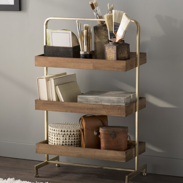Sylacauga 21 W x 32.5 H Bathroom Shelf by Mistana