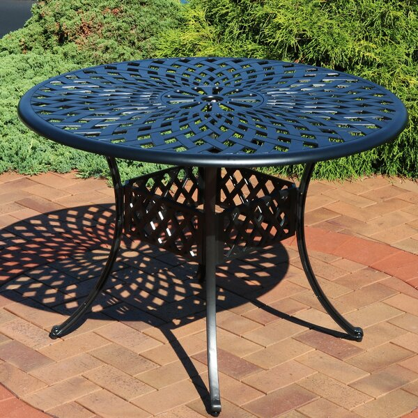 Middlet Aluminum Dining Table by Charlton Home