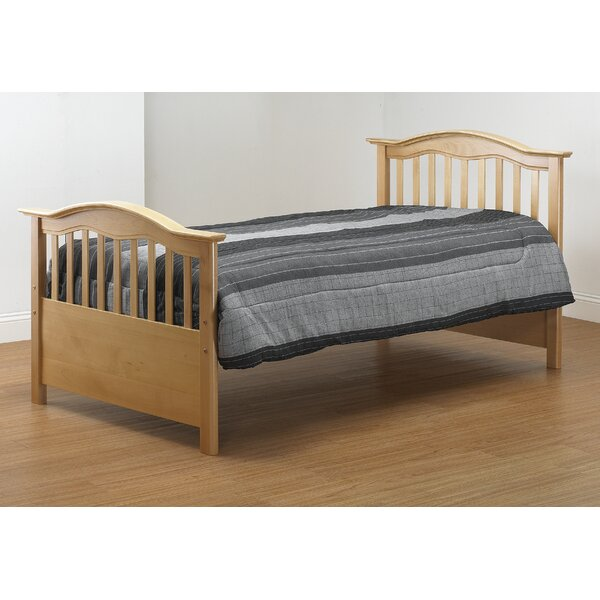 Twin Slat Bed with Trundle by Orbelle Trading