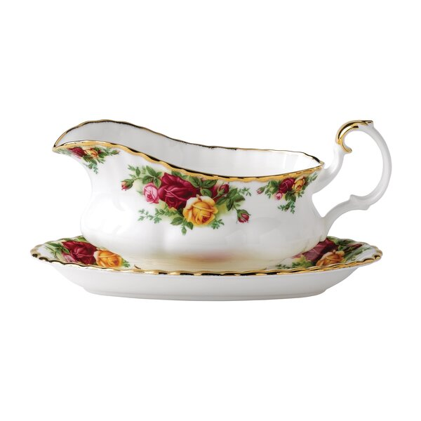 Old Country Roses 19. oz. Gravy Boat by Royal Albert