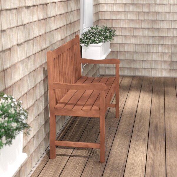 Elsmere Wooden Garden Bench by Beachcrest Home