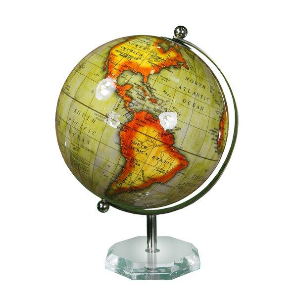Enamel Globe by Brayden Studio