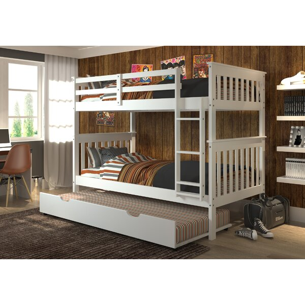 Dubbo Twin over Twin Bunk Bed with Trundle by Harriet Bee