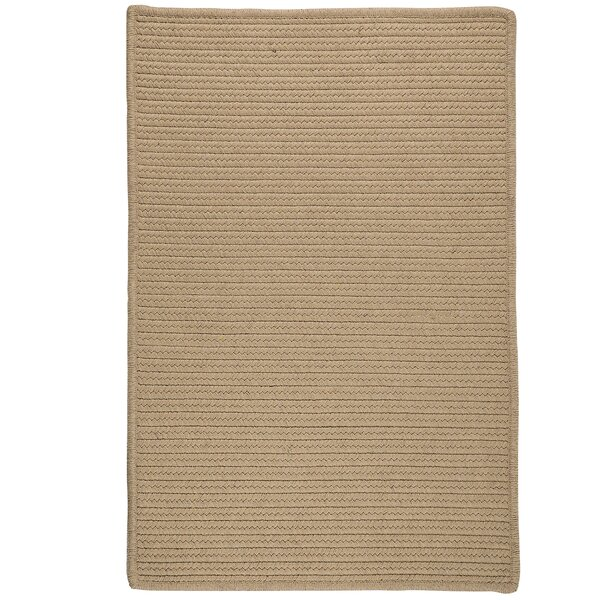 Jost Hand-Woven Beige Area Rug by Bay Isle Home