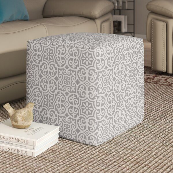 Willamstown Fretwork Pouf by Charlton Home