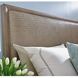 Shadow Play Upholstered Panel Headboard by Lexington