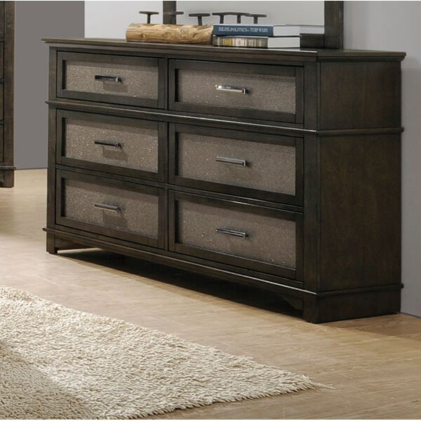 Tartaglia 6 Drawer Double Dresser by Mercer41