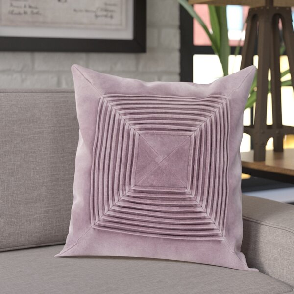 Krumm Textured Cotton Throw Pillow by Williston Forge