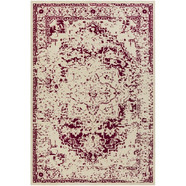 Tierney Beige/Pink Area Rug by Mistana