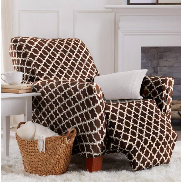 Printed Stretch T-Cushion Recliner Slipcover by Winston Porter