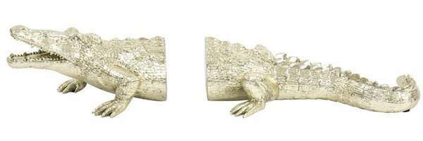 Crocodile Bookends (Set of 2) by Bay Isle Home