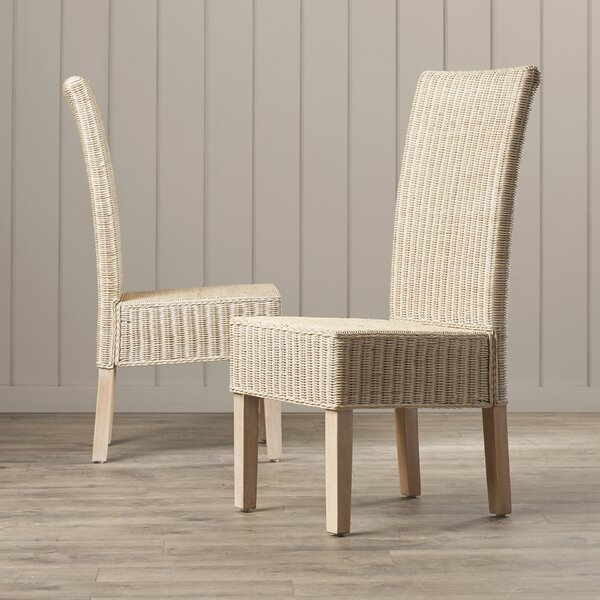 Baldwin Solid Wood Dining Chair (Set of 2) by Beachcrest Home