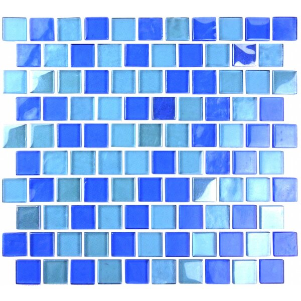 Landscape 1 x 1 Glass Mosaic Tile in Horizon by Abolos