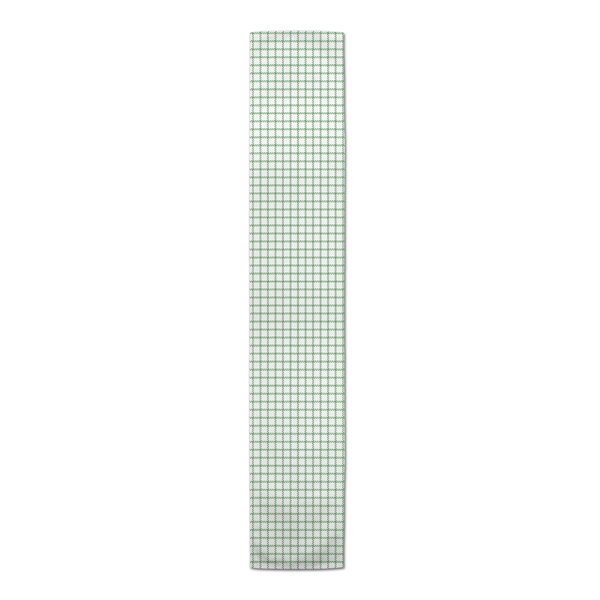 Bledsoe Green Plaid Table Runner by The Holiday Aisle