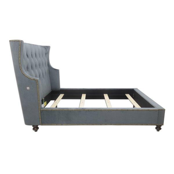 Varennes Upholstered Standard Bed by Canora Grey