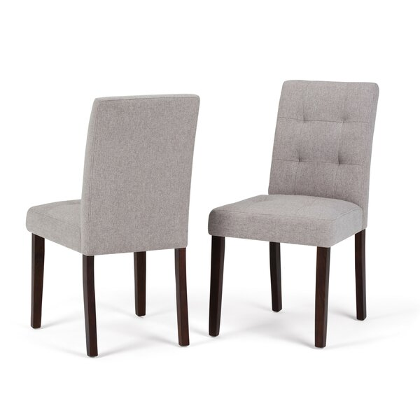 Washtenaw Upholstered Dining Chair (Set of 2) by Red Barrel Studio Red Barrel Studio