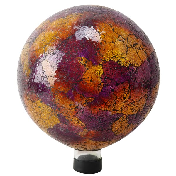 Mosaic Glass Gazing Globe by Alpine