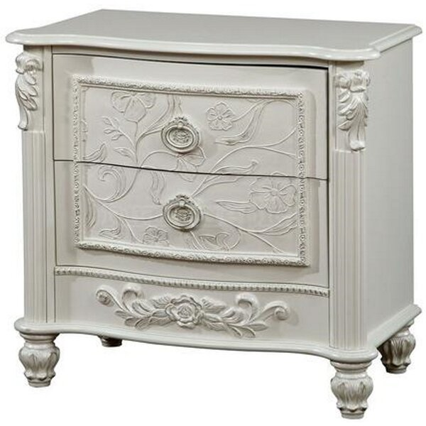 Cheab 2 Drawer Nightstand By Harriet Bee