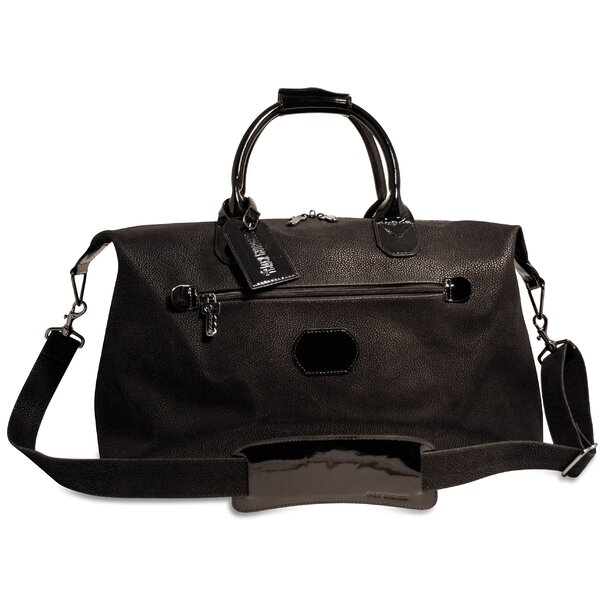 Nevada 19 Patent Leather Weekender Duffel by Jack Georges