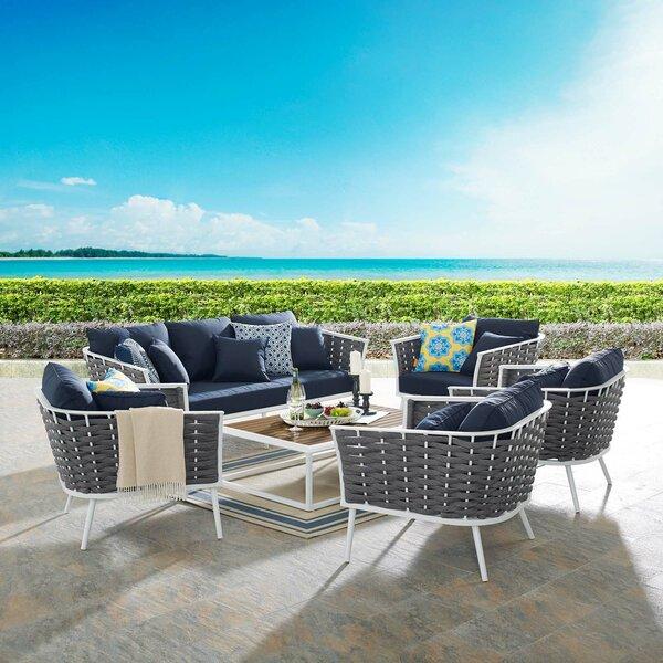 Garber 6 Piece Sofa Seating Group by Brayden Studio