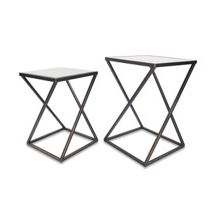 Dawson 2 Piece End Table by Ivy Bronx