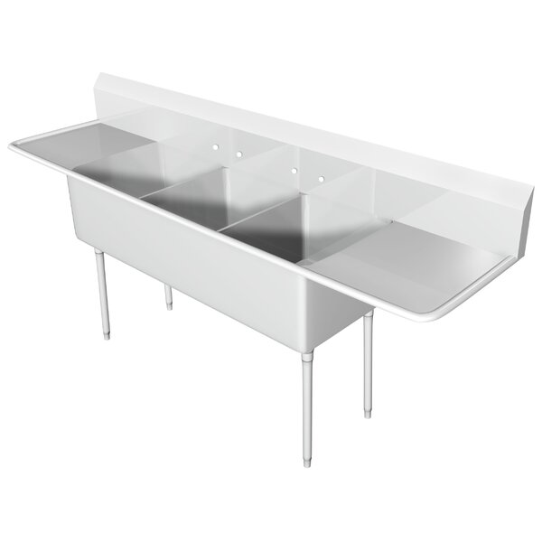 146 x 25.5 Free Standing Service Sink by IMC Teddy