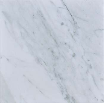 Carrara 12 x 12 Polished Marble Field Tile in White by The Bella Collection