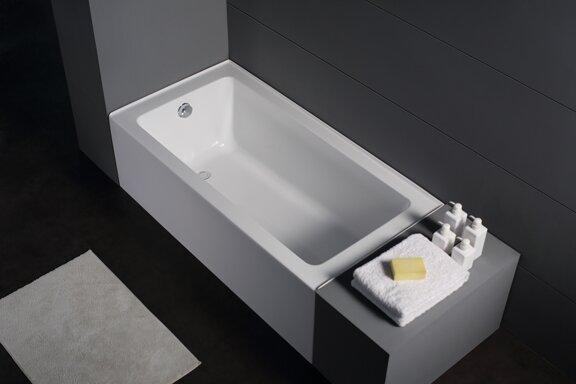 Ucore 59 x 30 Alcove Soaking Bathtub by UCore