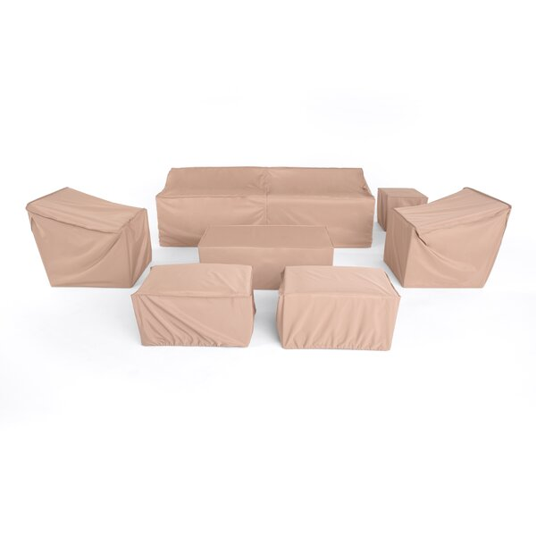 Furniture Covers for Modular 8pc Seating Group by Freeport Park