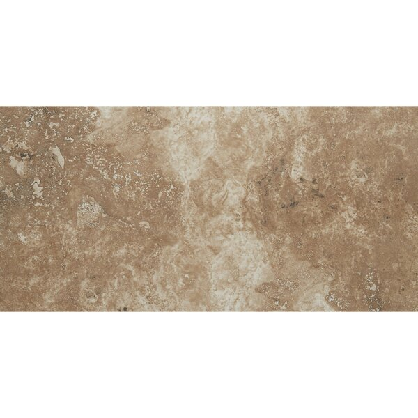 Costa Mesa Glazed 12 x 24 Porcelain Tile in Cottage Brown by Itona Tile
