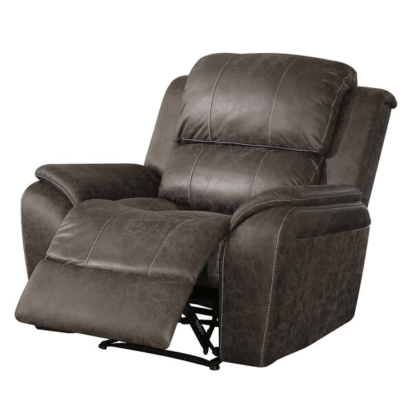 Meserve Polished Recliner