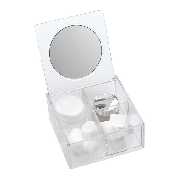 4 Compartment Organizer with Mirror by Danielle Creations