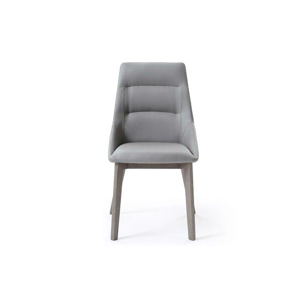 Eastland Upholstered Dining Chair (Set of 2) by Brayden Studio Brayden Studio
