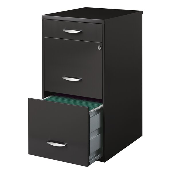 Alayna Office Designs 3-Drawer Vertical File Cabinet - 3 Drawer Filing Cabinets You'll Love Wayfair