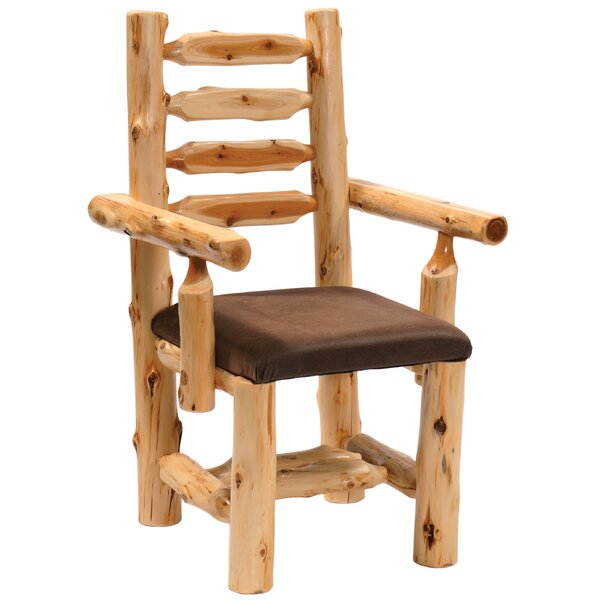 Cedar Upholstered Dining Chair by Fireside Lodge