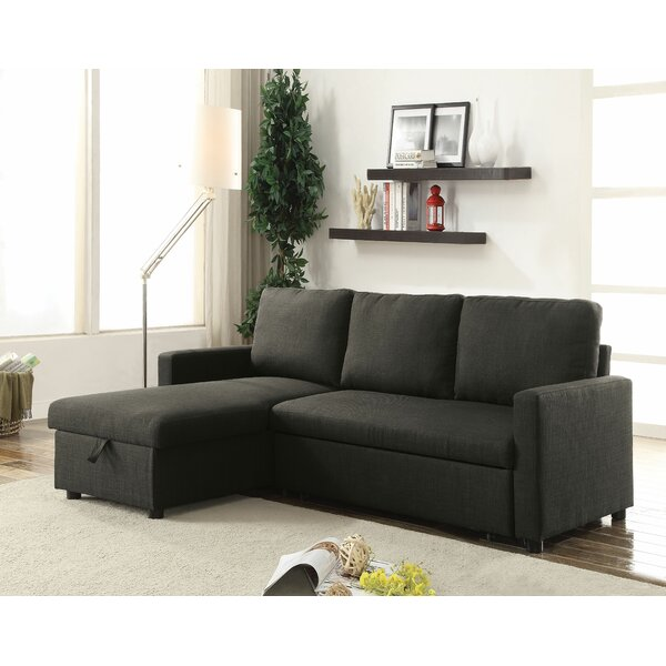 Pande Right Hand Facing Sleeper Sectional by Latitude Run