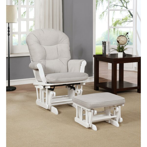 Saad Reclining Glider And Ottoman By Winston Porter