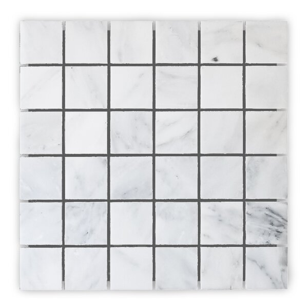 Alps Honed 12 x 12 Marble Mosaic Tile