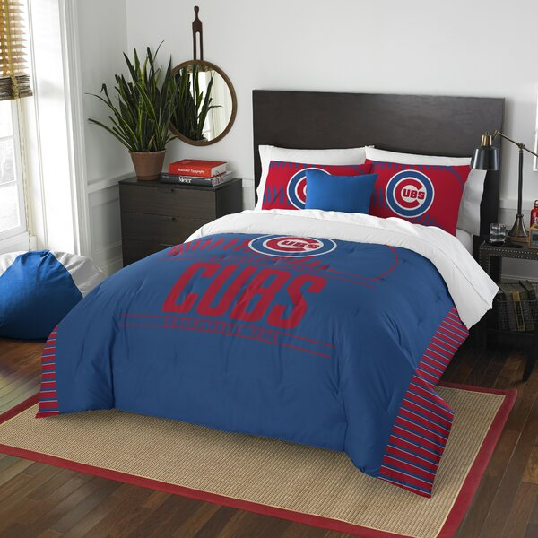 MLB Grand Slam 3 Piece Full/Queen Comforter Set by Northwest Co.