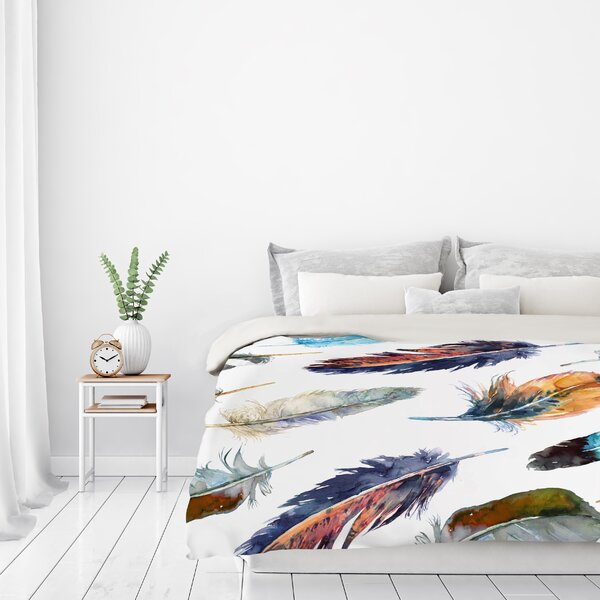 Feathers Reversible Duvet Cover