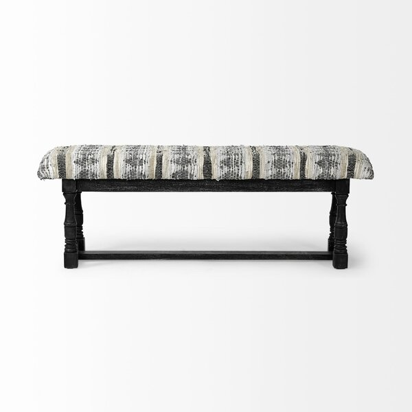 Harty Upholstered Bench by Bloomsbury Market