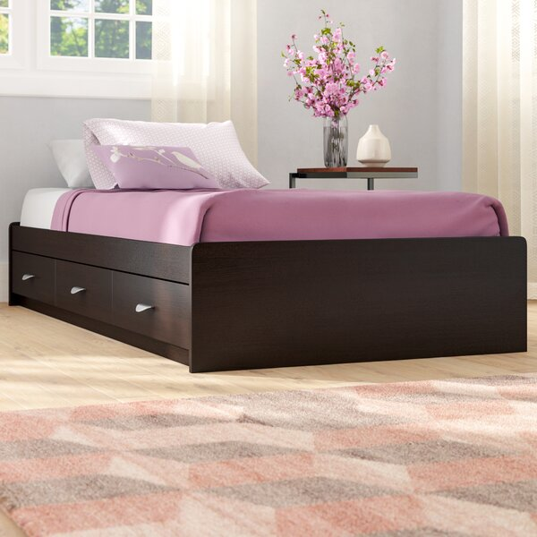 Distefano Storage Platform Bed by Latitude Run