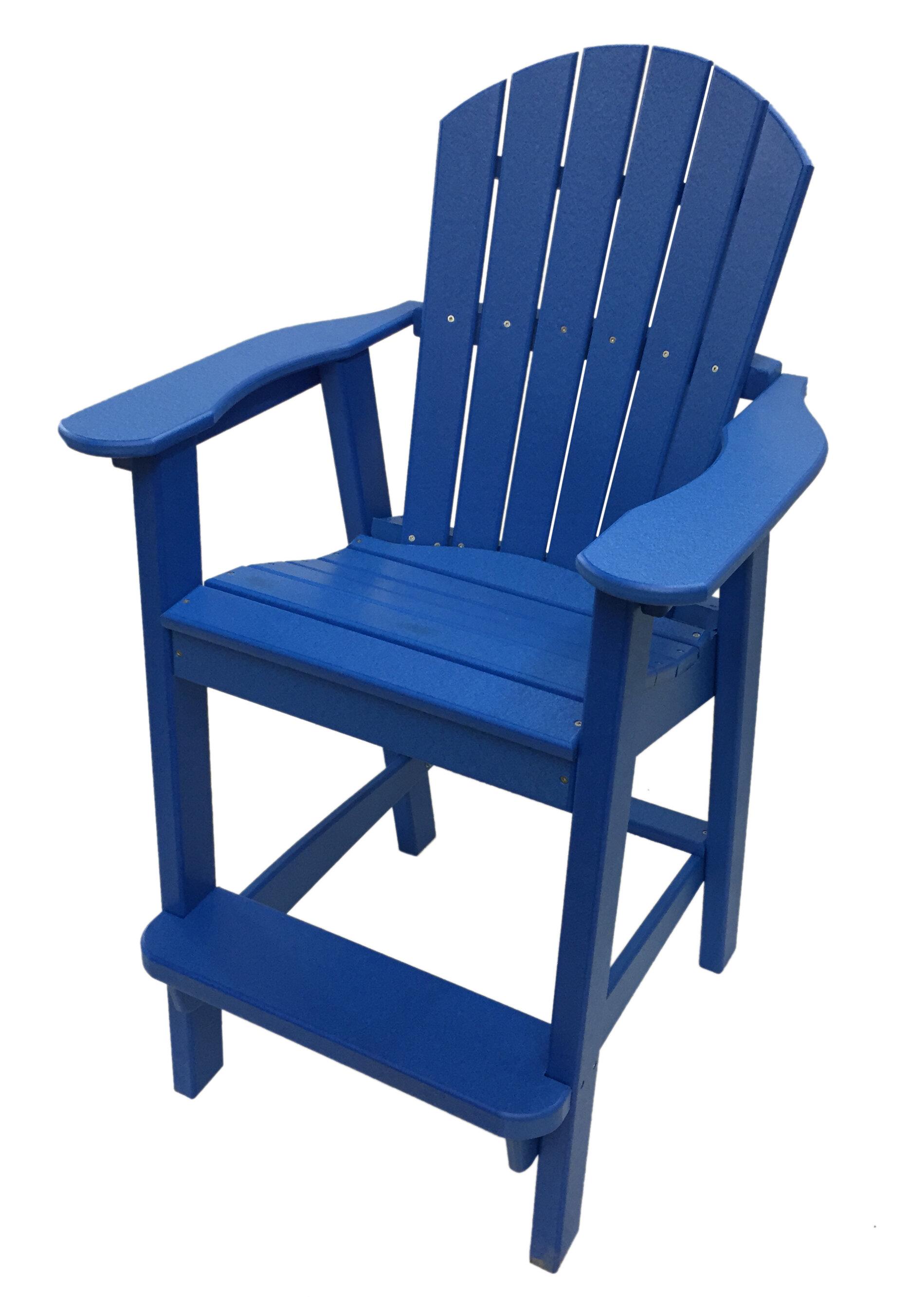 Buyers Choice Phat Tommy Balcony Plastic Adirondack Chair U0026 Reviews    Wayfair
