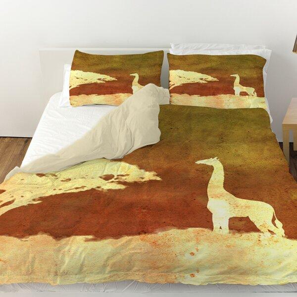 Safari Sunrise 4 Duvet Cover by Manual Woodworkers & Weavers